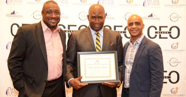 Orrin Hudson, recipient of the Black CEO Community Service Award