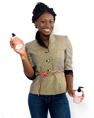 Zandra Cunningham, teen CEO of Zandra Beauty