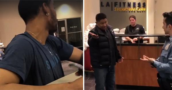 Black men racially profiled at LA Fitness