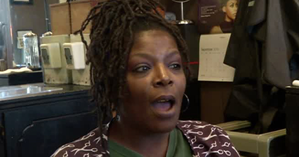 Traci Vance, owner of the Loc Nesst natural hair salon in Chattanooga, TN