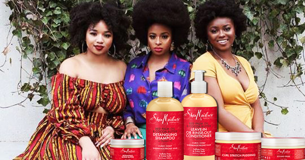 Shea Moisture's Red Palm Oil Collection