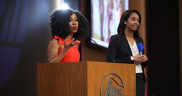 Dee C. Marshall speaking