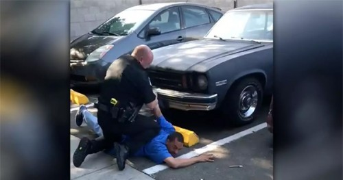 Another Black Man Arrested by Police... This Time For Leaving His Car ...