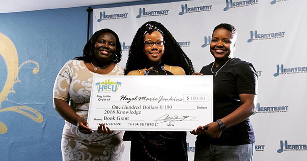 Tyra Hawthorne, founder of Heartbeat Music Performing Arts Academy