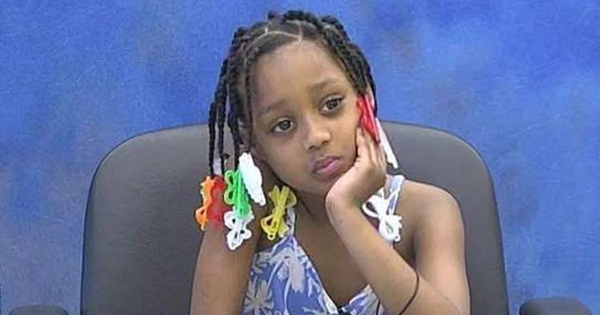 Davianna Simmons, 3-year old girl who won the settlement