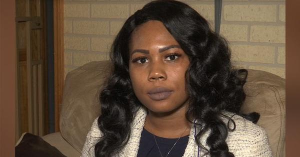 Jovita Jones, falsely accused of shoplifting