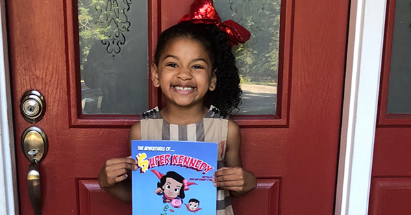 Kennedy O'Neal, 6-year old author of Super Kennedy