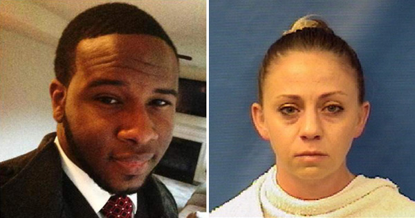 Botham Shem Jean and Amber Guyger, the police officer who killed him