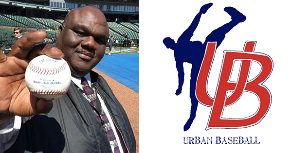 Coach Mike Mayden of the Urban Professional Baseball League
