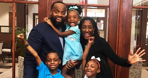 Talaat and Tai McNeely and their kids