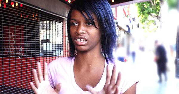 Treasure, Black teen who says she is white