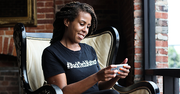 Angel Rich, founder of Black Tech Matters