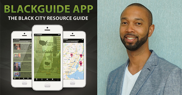 BlackGuide app founder, Leonard J. Young