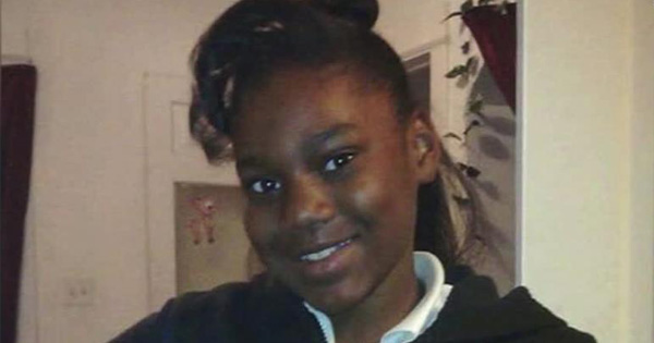 Sandra Parks, young girl killed by a stray bullet
