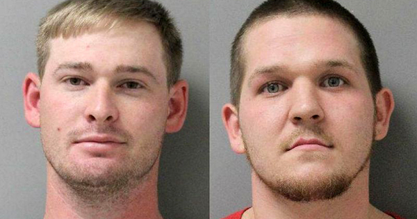 Two white men who attacked woman at Walmart
