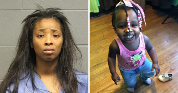Adreannia Donaldson, charged in the car crash that killed a 1-year-old girl