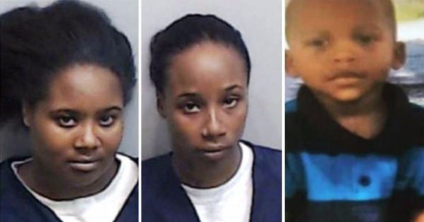 Glenndria Morris and LaShirley Morris, suspects for the death of 3-year-old Kejuan Mason