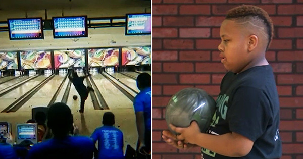 Kai Struthers, youngest person to bowl a perfect game
