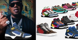 Master P's new shoe brand, MoneYatti