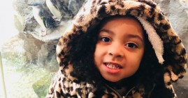 Ashanti Grinage, 4-year old girl who died from the flu