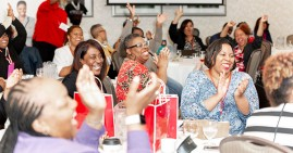 Black authors attending the Red Ink Conference