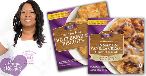Lesley Riley, founder and CEO of Mama Biscuits