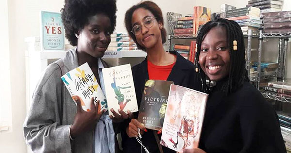 The team at Chez Alpha Books