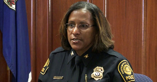 Tonya Chapman, first Black woman police chief of Portsmouth, Virginia