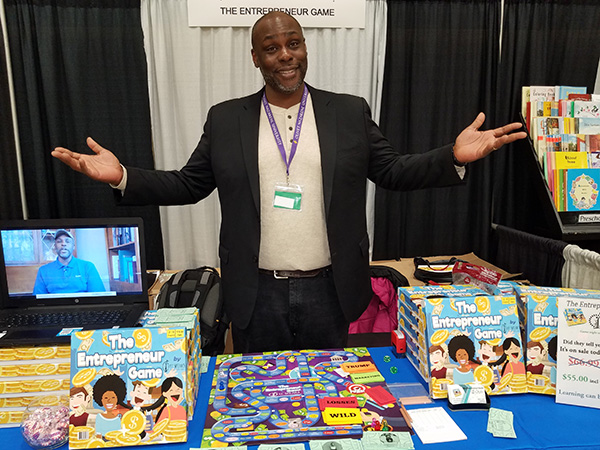 Elliott Eddie, founder of the Entrepreneur Board Game