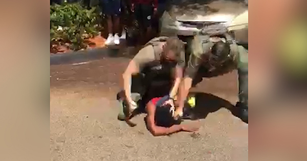 Florida police slamming Black teen's head on the ground