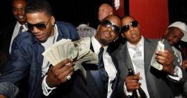 Jay-Z, Diddy and Nelly