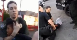 Black boy arrested by Sacramento Police with plastic bag on his head