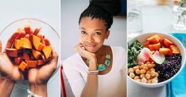 Black food blogger