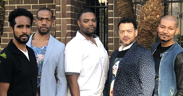 Cast members of The Central Park Five Long Beach Opera performance
