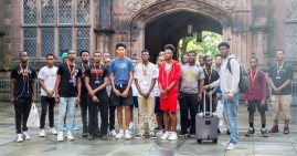 Young Black Boys Weekend at Princeton