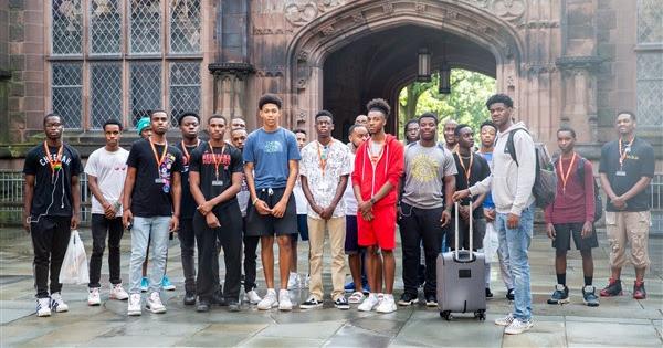 Young Black Boys Weekend at Princeton