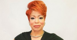 Angela Brown, founder of D'Serv Professional Haircare Products
