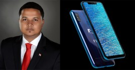 Freddie Figgers, inventor of first 5G smartphone designed in the U.S.
