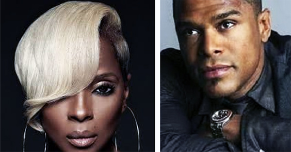 Mary J. Blige and Maxwell at the Cincinnati Music Festival