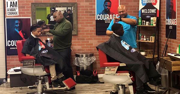 Men of Courage Cincinnati Barbershop Challenge