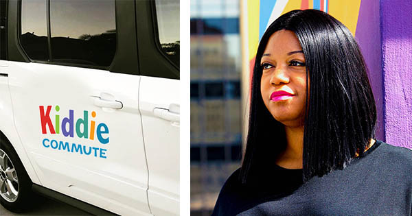 Shan Cureton, founder and CEO of Kiddie Commute