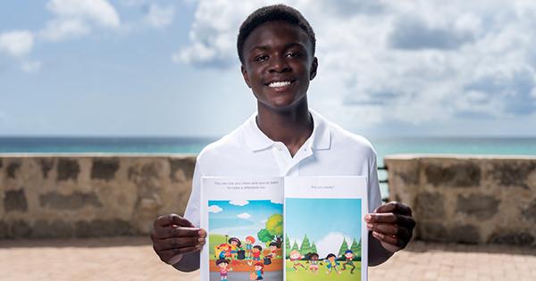 Adom Appiah, teen author