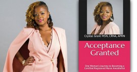 Crystal Grant, author of Acceptance Granted