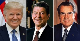 Racist white presidents