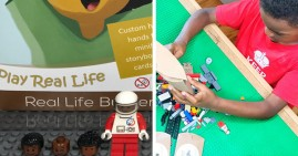 Real Life Bricks, Black-owned custom Lego subscription box