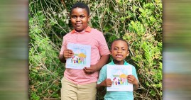 Jojo and Miles Yawson, authors of How to Deal With Kids