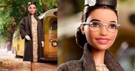 New Rosa Parks Barbie doll