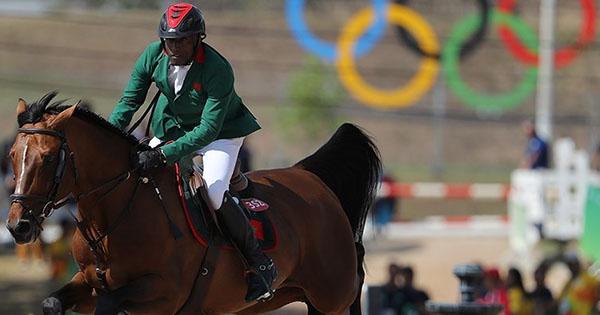Abdelkebir Ouaddar (Morocco) aboard Quickly de Kreisker at the 2016 Summer Olympics