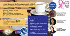 Gold Women's Wellness Business Breakfast