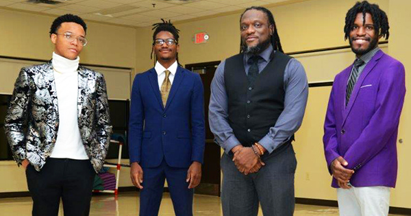 Gregory Cherry and his sons, the founders of VB Virtual Branding Solutions